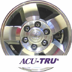 "16"" Toyota 4 Runner, FJ Cruiser Wheel Rim - 16982"