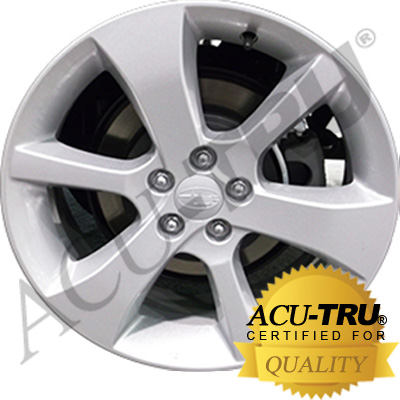 17x7 Subaru Outback Wheel Rim - 17710, 98545 painted silver