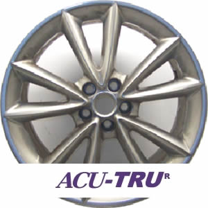 "19"" Jaguar XKR Wheel Rim - 59856 front"