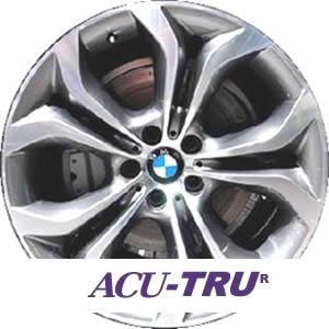 "20"" BMW X5 Wheel Rim - 71448 rear"