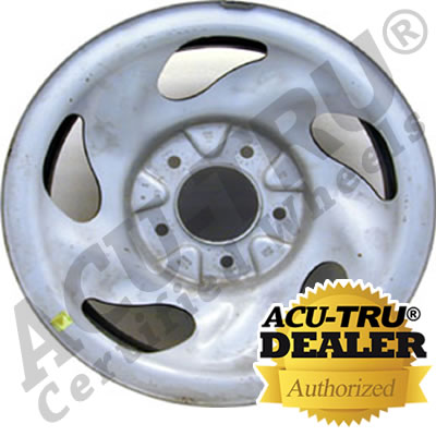 16x7 Ford Steel Wheel Rim - 3195 silver