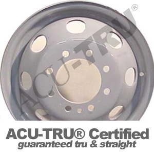 16x6 Ford E350 Steel Wheel Rim - 3210, 3326