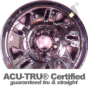 15x7 Ford, Mazda Steel Wheel Rim - 3259 chrome