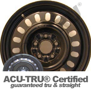 16x6 Sable, Taurus Steel Wheel Rim - 3381