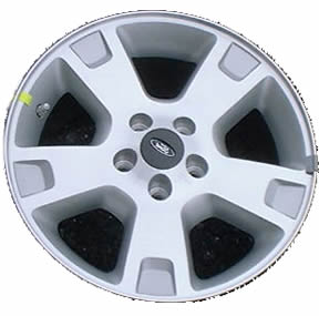 "17"" Ford Explorer Wheel Rim - 3528 painted silver"