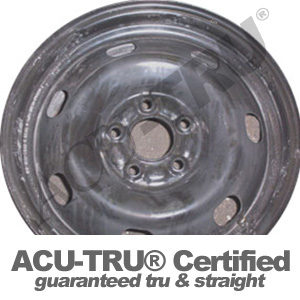 16x6.5 Milan, Fusion Steel Wheel Rim - 3631