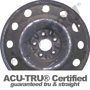 17x4 Mercury, Ford Steel Wheel Rim - 3652
