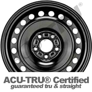 16x6.5 Ford Focus Steel Wheel Rim - 3876
