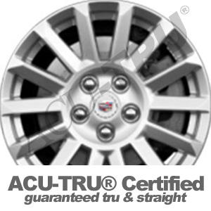 18x9 Cadillac CTS Wheel Rim - 4691 ffs rear