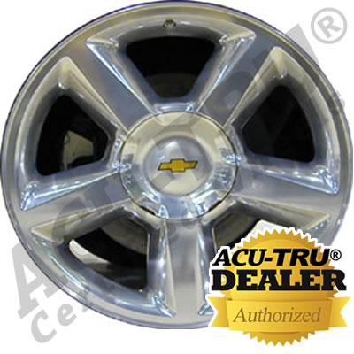 "20"" Chevrolet Wheel Rim - 5308, 5453, 5518 polished"