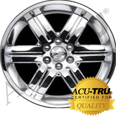 22x9 Cadillac, Chevrolet, GMC Wheel Rim - 5496 chrome