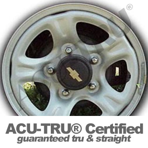 15x5.5 Chevrolet Steel Wheel Rim - 60175, 60177