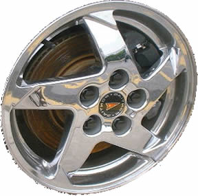 "16"" Pontiac Grand Prix Wheel Rim - 6564 polished"