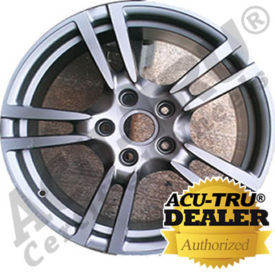 19x9.5 Porsche Cayman Wheel Rim - 67398 rear