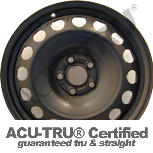 16x6.5 Volkswagen Beetle, Jetta, Golf Steel Wheel Rim - 69723