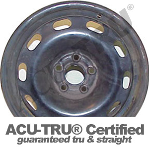 15x6 Volkswagen Steel Wheel Rim - 69775, 69870