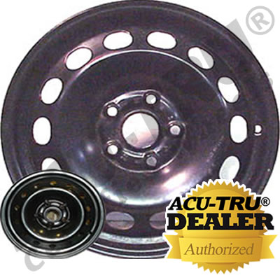 16x6.5 Volkswagen Jetta, Golf Steel Wheel Rim - 69809
