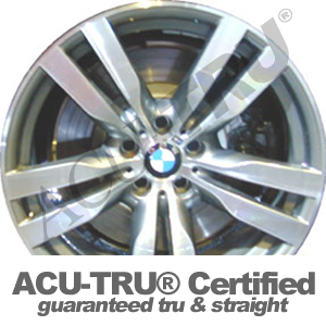 "20"" BMW X5, X6 Wheel Rim - 71387 rear"