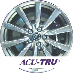 "19"" Lexus IS-F Wheel Rim - 74205 polished front right"