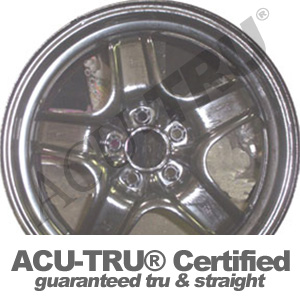 17x7 Chevrolet, Saturn, Pontiac Steel Wheel Rim - 8075, 6606