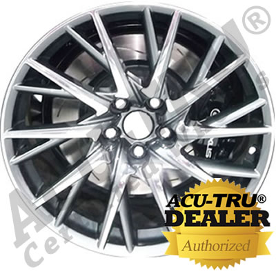 19x10 Lexus RCF Wheel Rim - 19415, 98961 rear