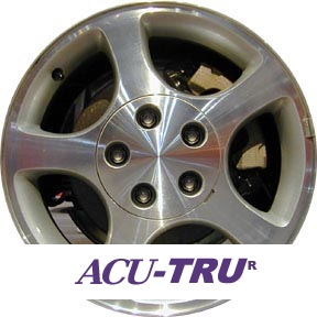 "16"" Ford Mustang Wheel Rim - 3375 machined, notch, ledge"