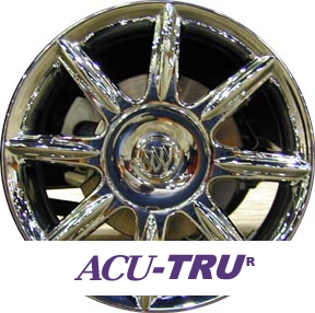 "17"" Buick Allure, Lacrosse Wheel Rim - 4066, 4067 chrome"