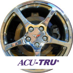 "17"" Chevrolet Corvette Wheel Rim - 5102"