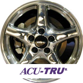 "17"" Pontiac Firebird Wheel Rim - 6531u80"