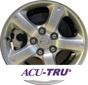 "16"" Mazda Tribute Wheel Rim - 64879"