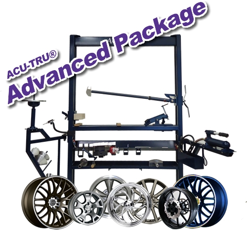 ACU-TRU Wheel Repair Machine - Advanced PKG