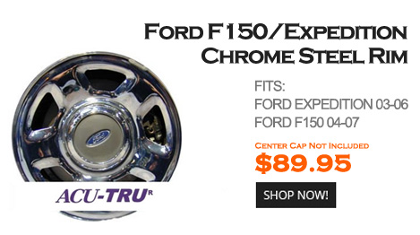 Chrome Steel Wheels
