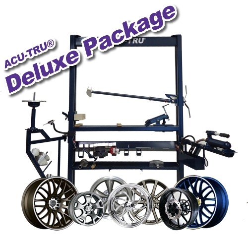 ACU-TRU Wheel Repair Machine - Deluxe PKG