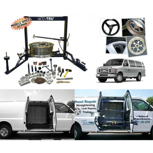 ACU-TRU Wheel Repair Machine - Mobile PKG